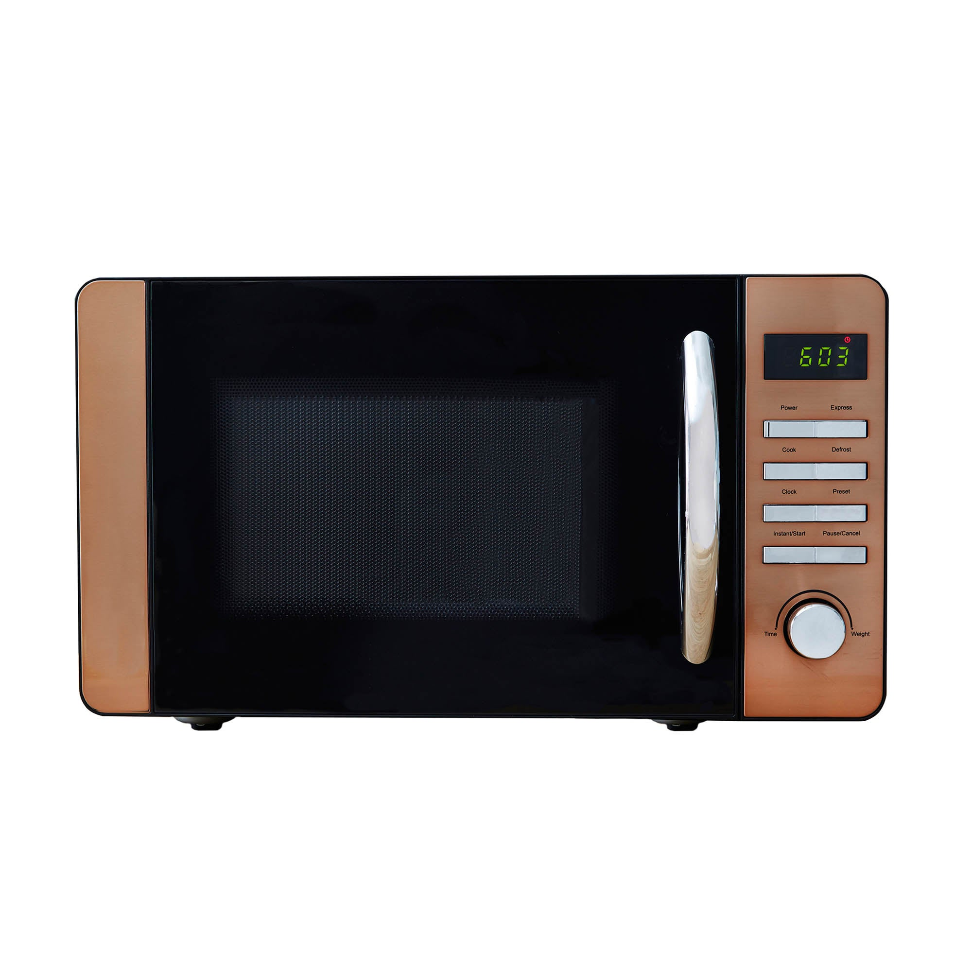 Click to view product details and reviews for Copper 700w 20l Digital Microwave Copper.