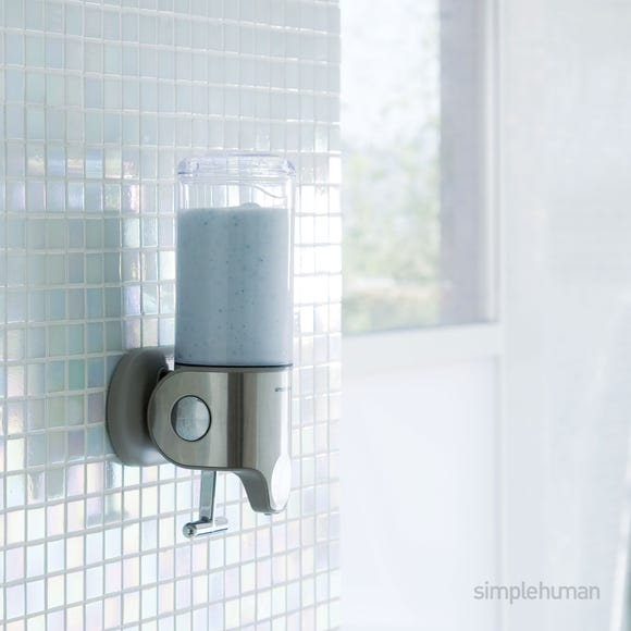 simplehuman Single Shower Soap Pump Steel