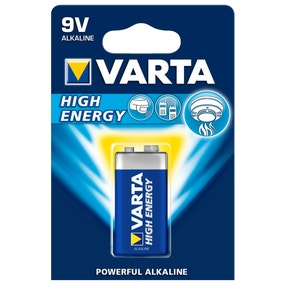 Varta High Energy 9V Battery