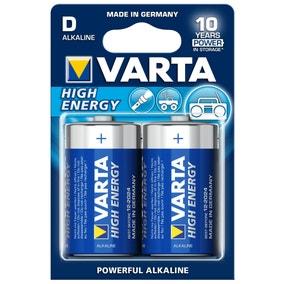 Varta High Energy D Size Batteries