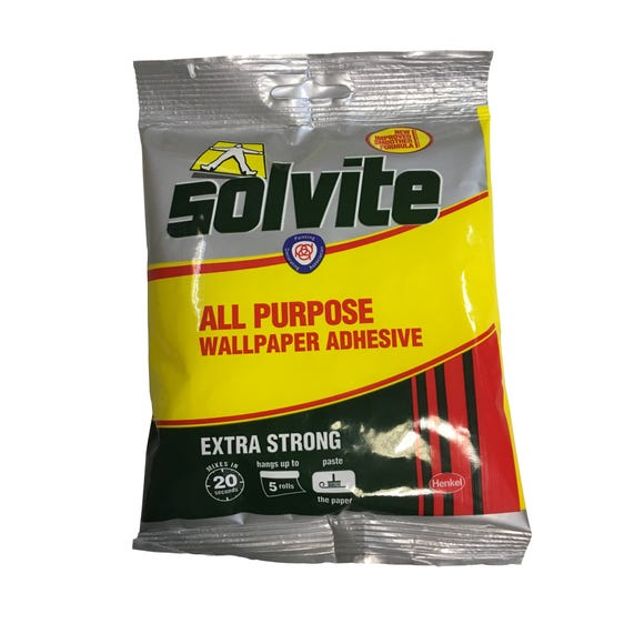 Solvite All Purpose Wallpaper Paste Clear