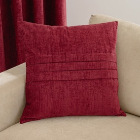 Chenille Pleat Cushion