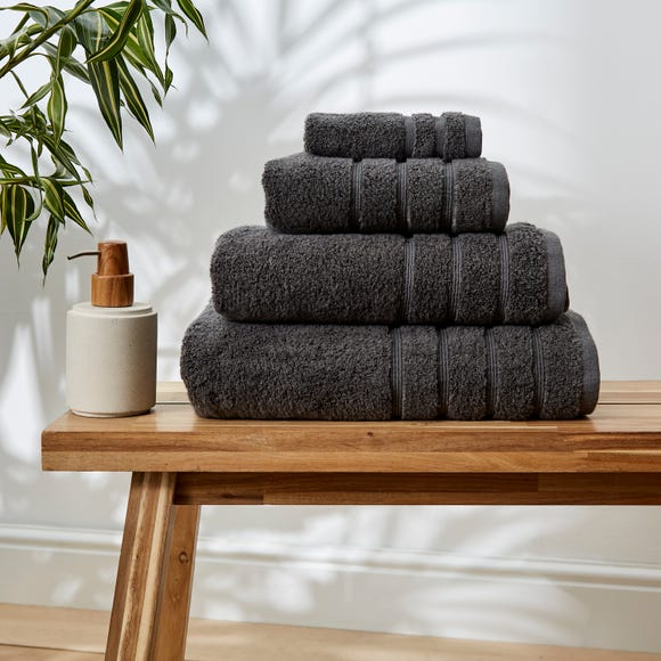 Dark Grey Ultimate Towel  undefined