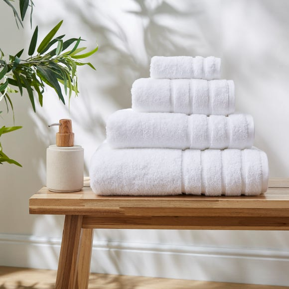 White Ultimate Towel  undefined