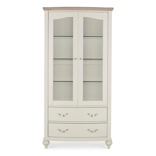 Sophia Grey Display Cabinet Grey