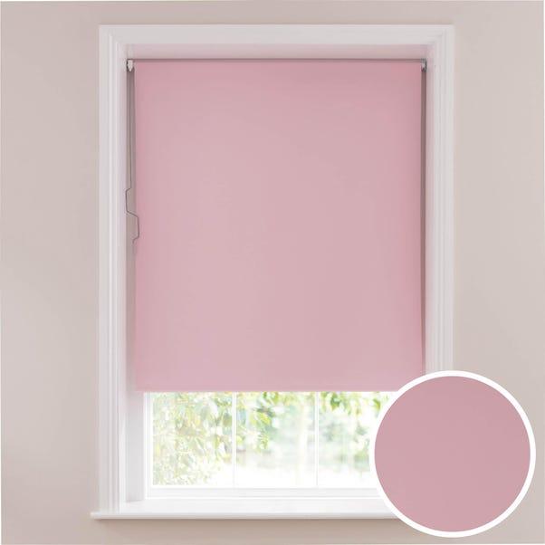 Soft Pink Blackout Cordless Roller Blind  undefined