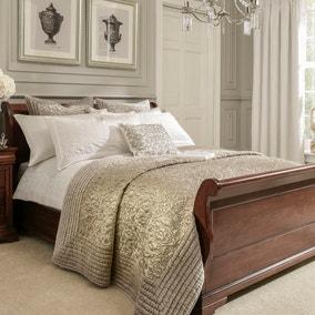 Dorma Charlbury Champagne Bedspread