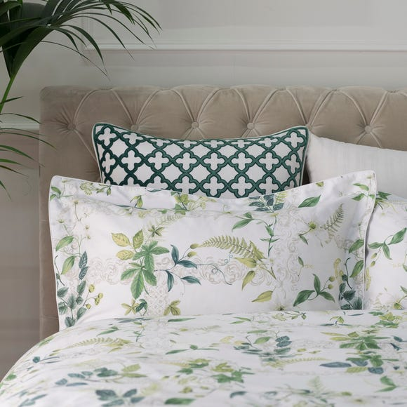 Dorma Botanical Garden Oxford Pillowcase Green