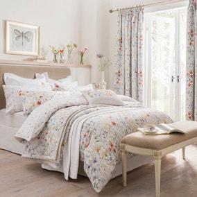 Dorma Wildflower Digitally Printed 100% Cotton Duvet Cover