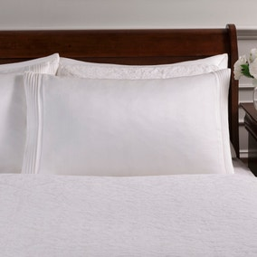 Dorma Charlbury Ivory Cuffed Pillowcase