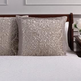 Dorma Charlbury Champagne Continental Pillowcase