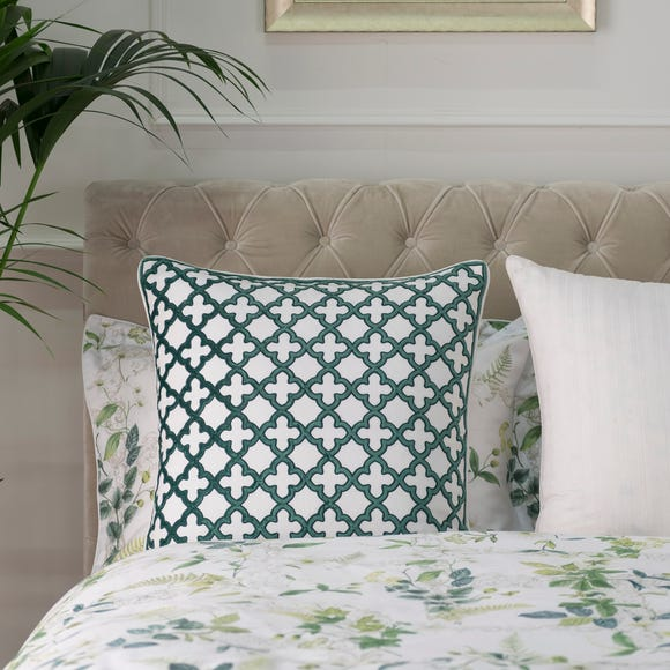 Dorma Botanical Garden Walled Cushion Green