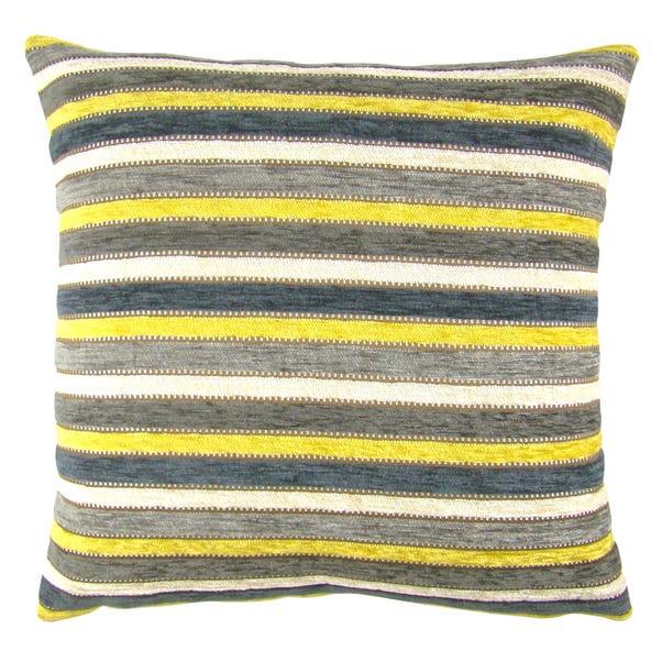 Chenille Blenheim Ochre Cushion Cover Ochre