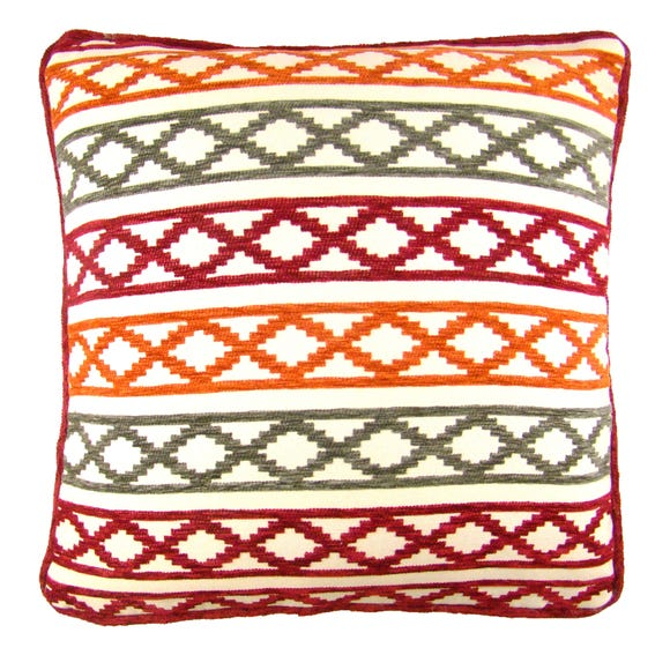 Chenille Maddox Terracotta Cushion Cover Terracotta