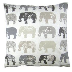 Anais Grey Elephant Cushion Cover