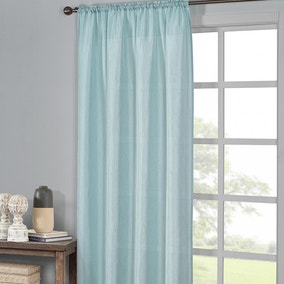 Ella Seafoam Slot Top Single Voile Panel