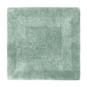 Super Soft Reversible Seafoam Square Bath Mat