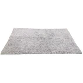 Silver Sparkle Bath Mat