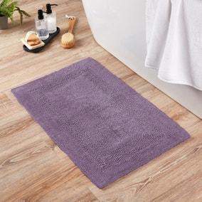 Super Soft Reversible Lavender Bath Mat