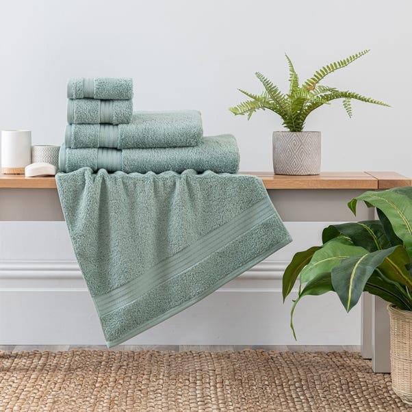 Seafoam Egyptian Cotton Towel  undefined