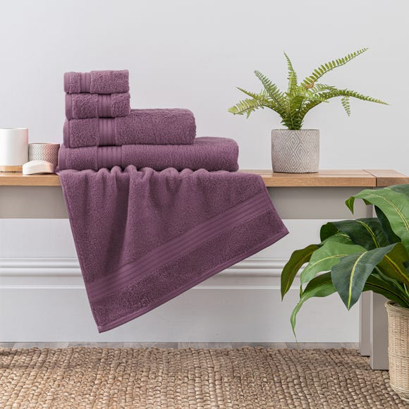 Lavender Egyptian Cotton Towel  undefined