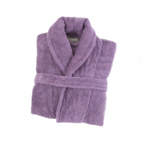 Egyptian Cotton Lavender Dressing Gown