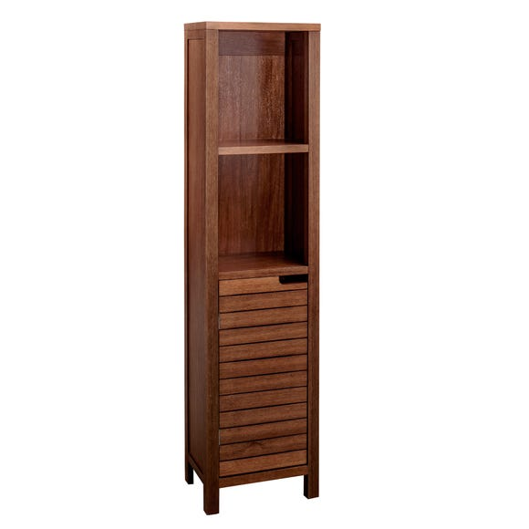 Marseille Acacia Slatted Tall Unit Acacia (Brown)
