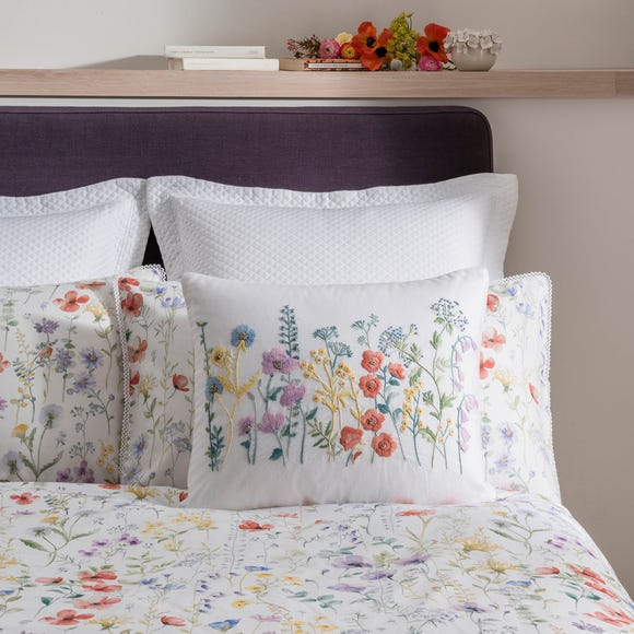 Dorma Wildflower Cushion MultiColoured
