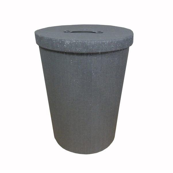 Sparkle Laundry Basket Grey