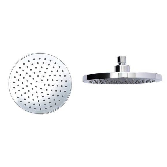 Fixed Circular Shower Head Chrome