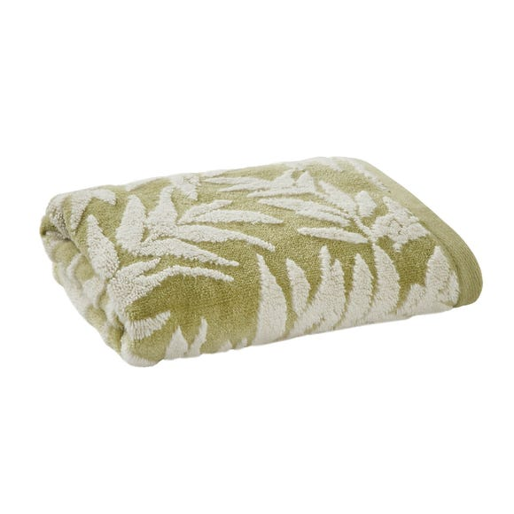Green Leaves Towel  undefined