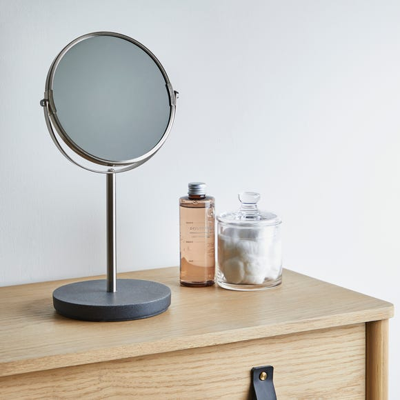Grey Resin Mirror Grey