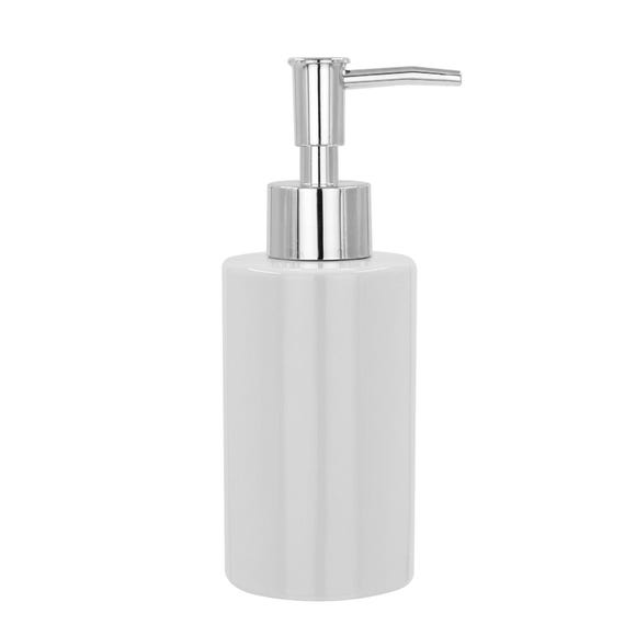White Ceramic Lotion Dispenser White