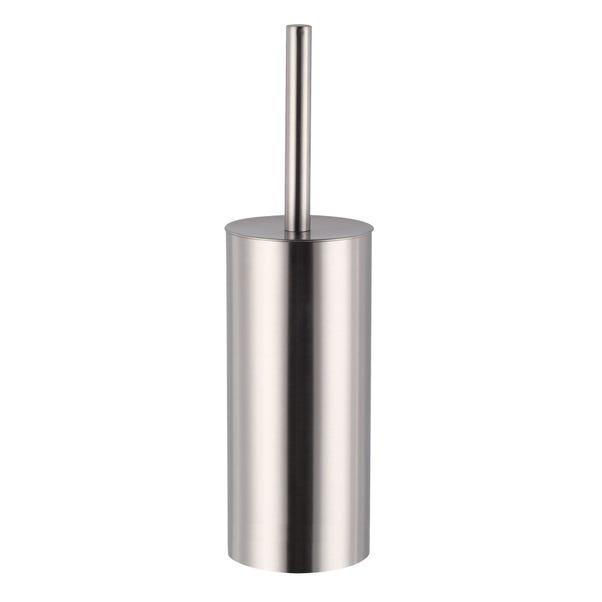 Brushed Metal Toilet Brush Brushed Steel