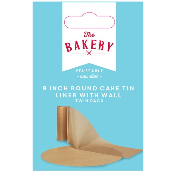 Dunelm Pre Cut Cake Tin Liner Natural