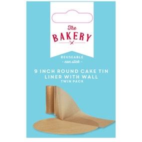 Dunelm Pre Cut Cake Tin Liner