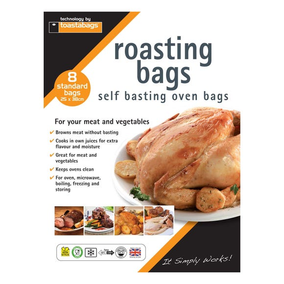 Toastabags Standard Roasting Bags Clear
