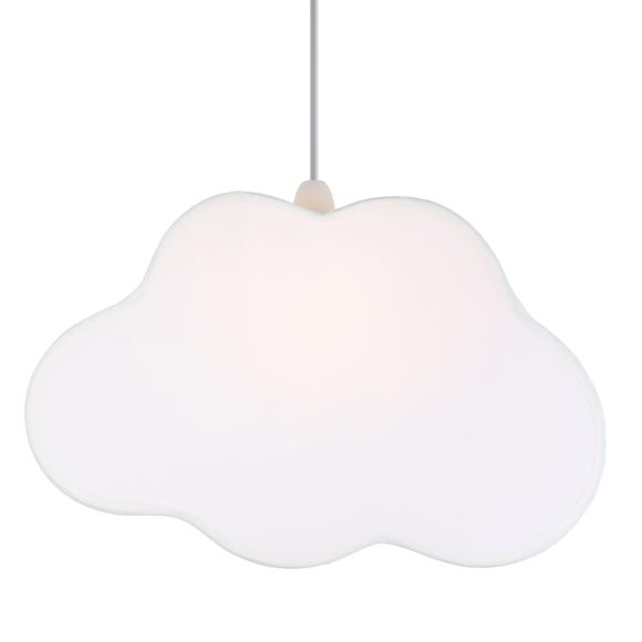 Sweet Dreams White Cloud Pendant Shade White