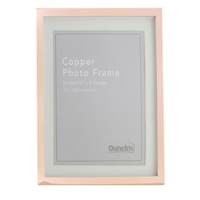"Copper Photo Frame 10"" x 8"" (25cm x 20cm)"