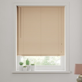 Natural Wooden Venetian Blind 27mm Slats