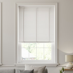White Wooden Venetian Blind 50mm Slats