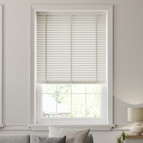 Dove Grey Wooden Venetian Blind 50mm Slats