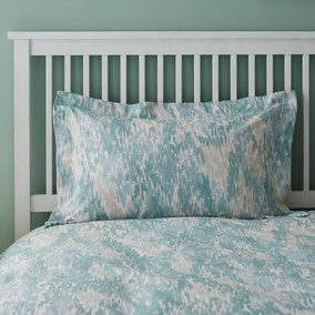 Waves Teal Oxford Pillowcase
