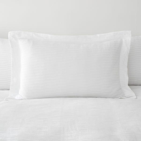 Alissa White Oxford Pillowcase White