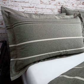Willington Grey Oxford Pillowcase