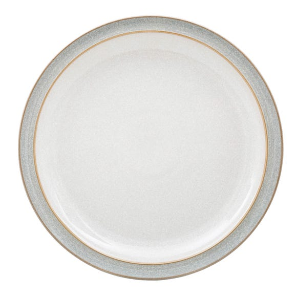 Denby Elements Grey Dinner Plate Grey