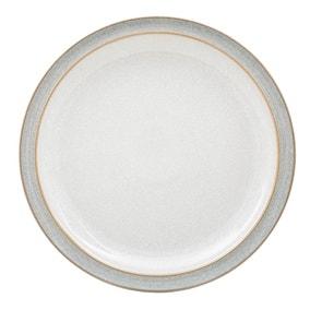 Denby Elements Grey Dinner Plate