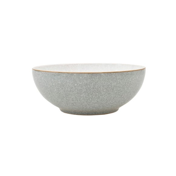 Denby Elements Grey Coupe Bowl Grey