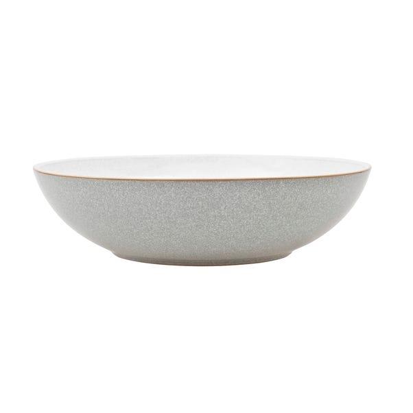 Denby Elements Grey Serving Bowl Grey