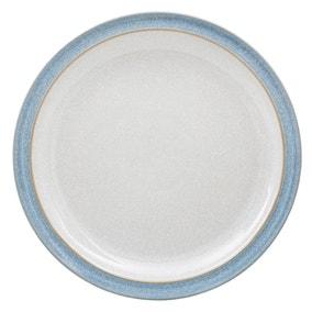 Denby Elements Blue Dinner Plate Blue